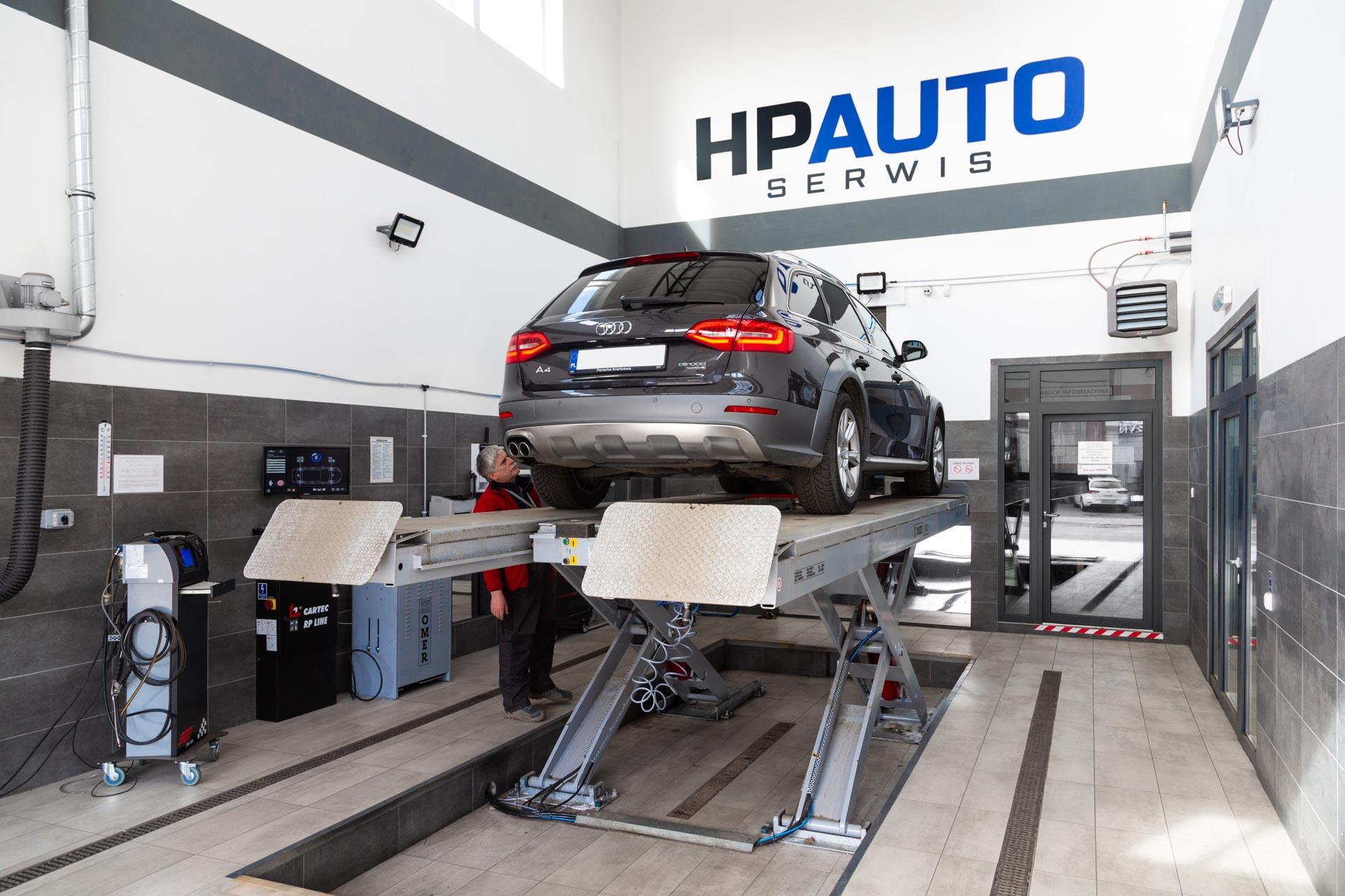 hp auto serwis - stacja kontroli pojazdów szczecin santocka 44