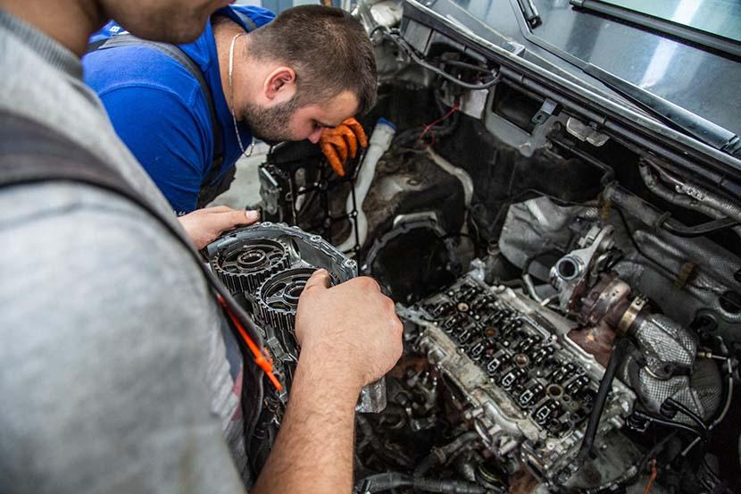 hp auto serwis - warsztat samochodowy - santocka 44